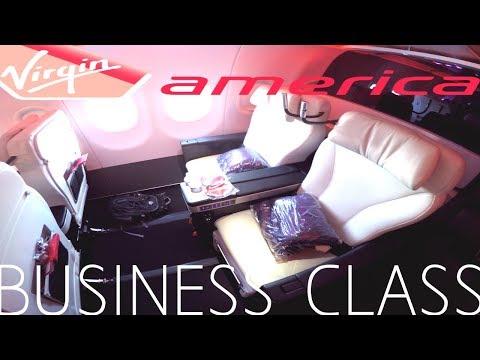Virgin America BUSINESS CLASS Los Angeles to Honolulu|A321