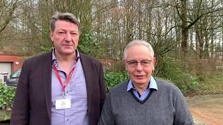 Hamburger Bürgerschaftswahl 2020 | Jan Koltze mit Unterstützer Michael Vassiliadis