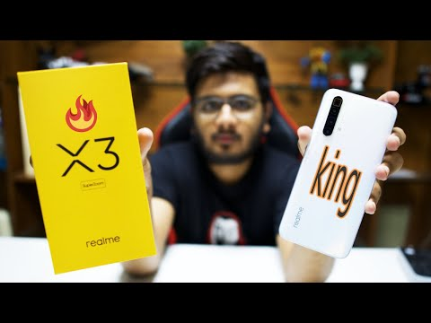 Realme X3 Superzoom Unboxing The Realme Flagship Youtube