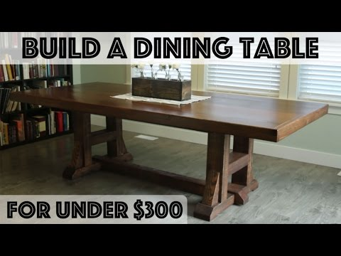DIY Dining Table: Pottery Barn Inspired Farmhouse Table ...