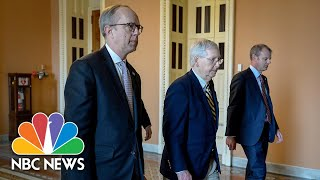 Gambar cover Senate Fails To Advance Coronavirus Stimulus Package, Devastating For Businesses | NBC News