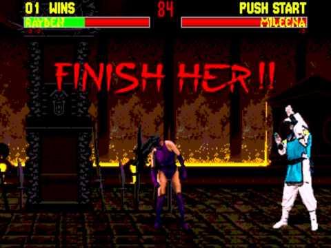[Sega Genesis] - Mortal Kombat II - All Fatalities, Friendships and Babalities thumbnail