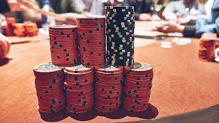 Pocket Aces and $6000 in the Middle at the Bellagio