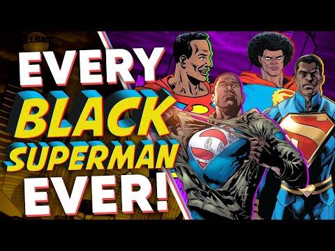 EVERY Black Superman EVER!