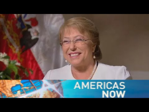 Americas Now— A Conversation with the President of Chile: Michelle Bachelet 04/11/2016