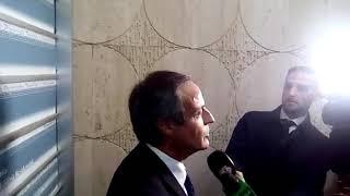 STADIO DELLA ROMA Michele Civita all'uscita della Conferenza dei Servizi 24 11 2017