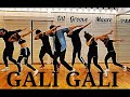 KGF Gali Gali Video Song | Neha Kakkar | Mouni Roy | Zumba Dance Routine | Dil Groove Maare
