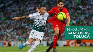 Final Ida Clausura 2018: Santos 2-1 Toluca  - Resumen