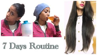 How I grew My Hair Length with Onion HairOil|Full Routine|