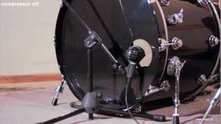 AKG D112 Test mikrofonów perkusyjnych do stopy