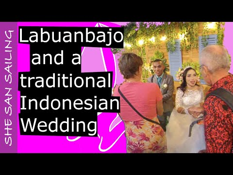 Labuan Bajo and the Traditional Indonesian Wedding of Nyta and Benny