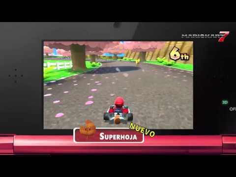 Mario Kart 7 - (Nintendo 3DS) - Conócelo a fondo...