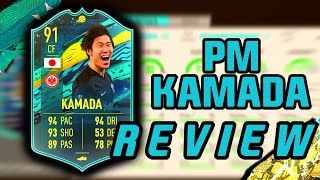 PM KAMADA IS INSANE! - PLAYER MOMENTS KAMADA REVIEW - FIFA 20 ULTIMATE TEAM
