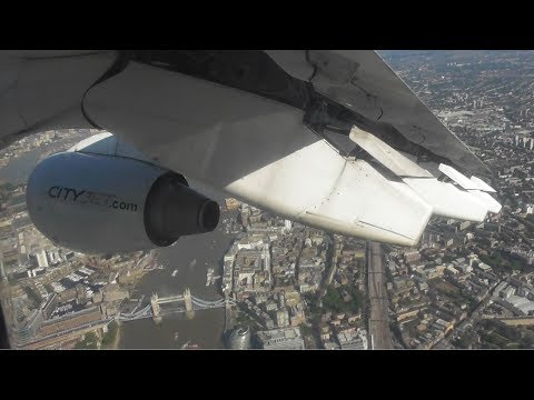 CityJet BAe Avro RJ85 | Dublin to London City *FULL FLIGHT*