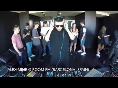 Alex Mine @ Room FM (Barcelona, Spain)