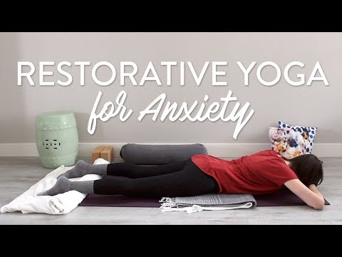 Restorative Yoga Sequence for Anxiety