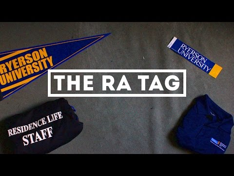 The RA (Residence Advisor) Tag - mikaelmmelo