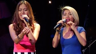 KATRINA VELARDE & MONIQUE LUALHATI - Flashlight (Live @ Music Museum!)