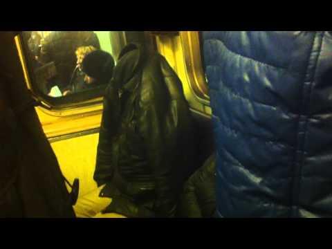 Человек-невидимка в Московском метро