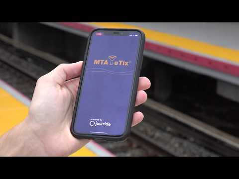 MTA LIRR New Train Time App