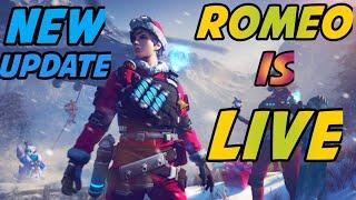 Garena free fire live- Replay Stream- AO VIVO- Rush rank gameplay with Romeo gamer🔴⚫