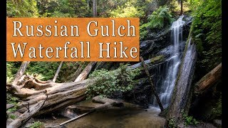 Russian Gulch State Park Waterfall Hike in Mendocino