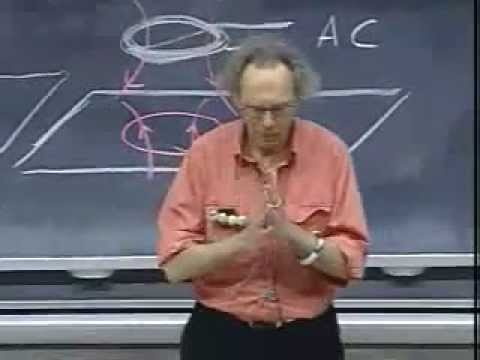 Lec 19: How do magicians levitate women? | 8.02 Electricity and Magnetism (Walter Lewin)