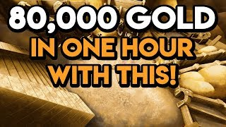 World Of Warcraft Gold Farm 80,000 Gold In One Hour