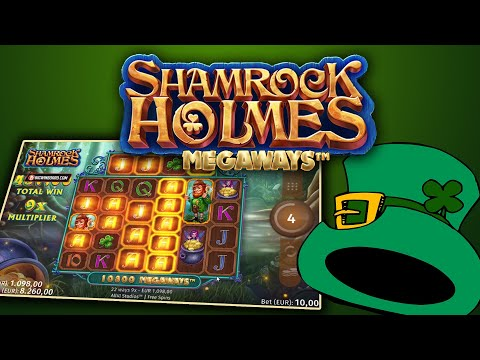 ᐉ Shamrock Holmes Megaways All41 Studios Online Slot Slots Online