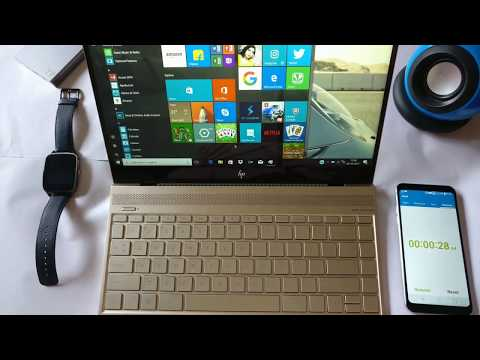 Boot up test+Review hp envy 13 2017 ad079tu