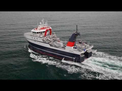 F/T ARAHO Delivery - Freezer Processor Factory Trawler