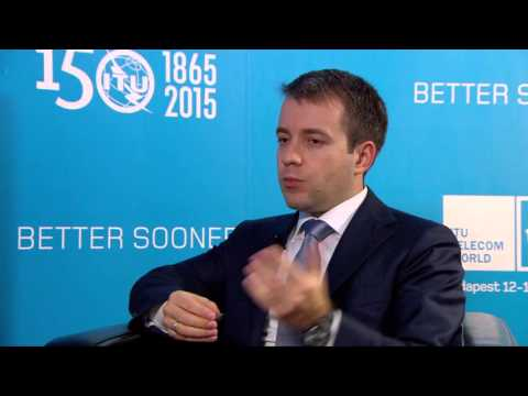 ITU TELECOM WORLD 2015 INTERVIEWS: Nikolay Nikiforov, Minister, Telecom, Russian Federation