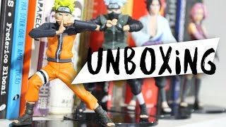 UNBOXING - Coleção de miniaturas Naruto Shippuden