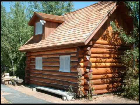 Custom Log Cabin Playhouse Youtube