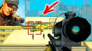 БАНДА В ГОРОДЕ ► Sniper 3D Assassin СНАЙПЕР СИМУЛЯТОР