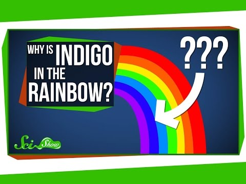 Why is Indigo in the Rainbow?
