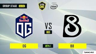 OG vs B8 (игра 1) BO3   ESL One Los Angeles   Online