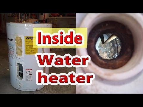 What's Inside Your Water Heater And Anode Rod