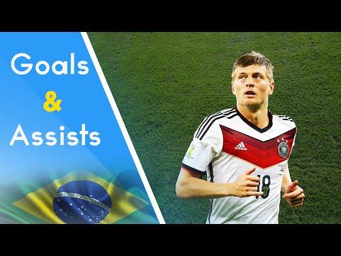 Toni Kroos ● All Goals & Assists at World Cup 2014