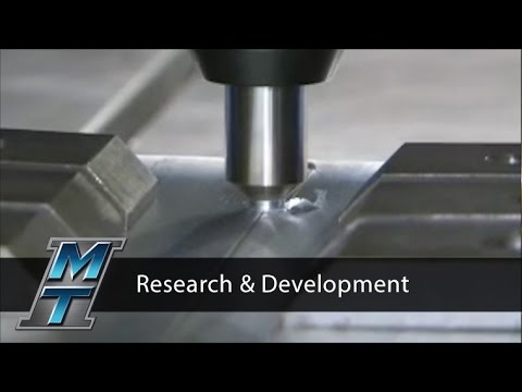 Friction Stir Welder for Research & Development