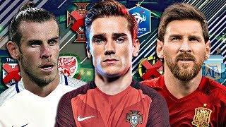 LES 10 STARS DU FOOTBALL QUI AURAIENT PU JOUER POUR UN AUTRE PAYS !