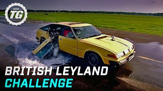 British Leyland Challenge Highlights - Top Gear - BBC