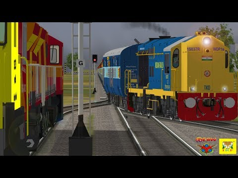 MsTs IndiaN RailwayS || Shunting Of Freight IR With Real Freight Sound By Only @ERW Part-  3
