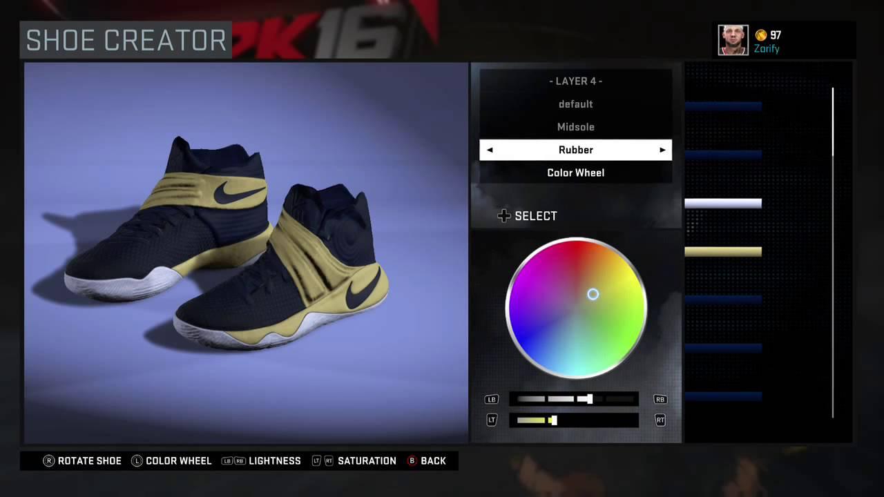check out 4d680 61118 NBA 2K16 Shoe Creator - Nike Kyrie 2 PE