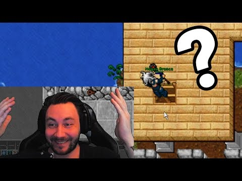 Walking In The Air - Tibia on Twitch #week23