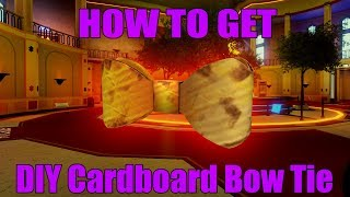 HOW TO GET DIY CARDBOARD BOW TIE - Bloxies Event (ROBLOX)