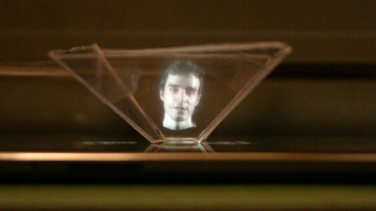 Exp rience hologramme fait maison youtube for Bain moussant fait maison