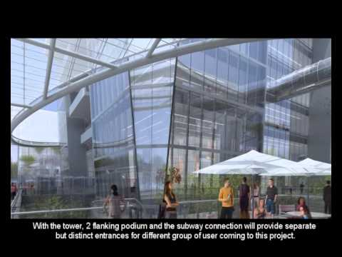 Guangxi Financial Investment Center Animation