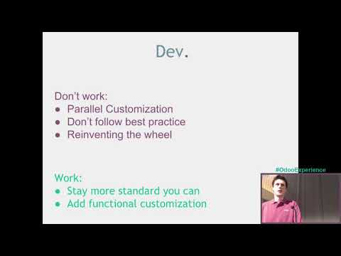Development/Staging/Production with odoo.sh - Odoo Experience 2017