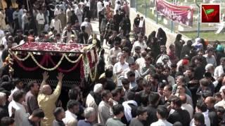Jalous e Taboot Imam Mosa Kazim as 25 Rajab 2017 Darbar Shah Peyara (Part 4)
